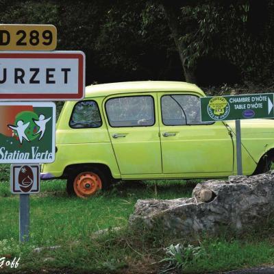 4L à Burzet