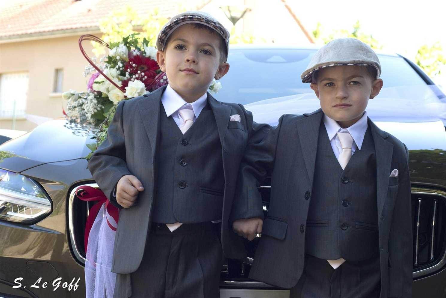 Petits garçons d'honneur