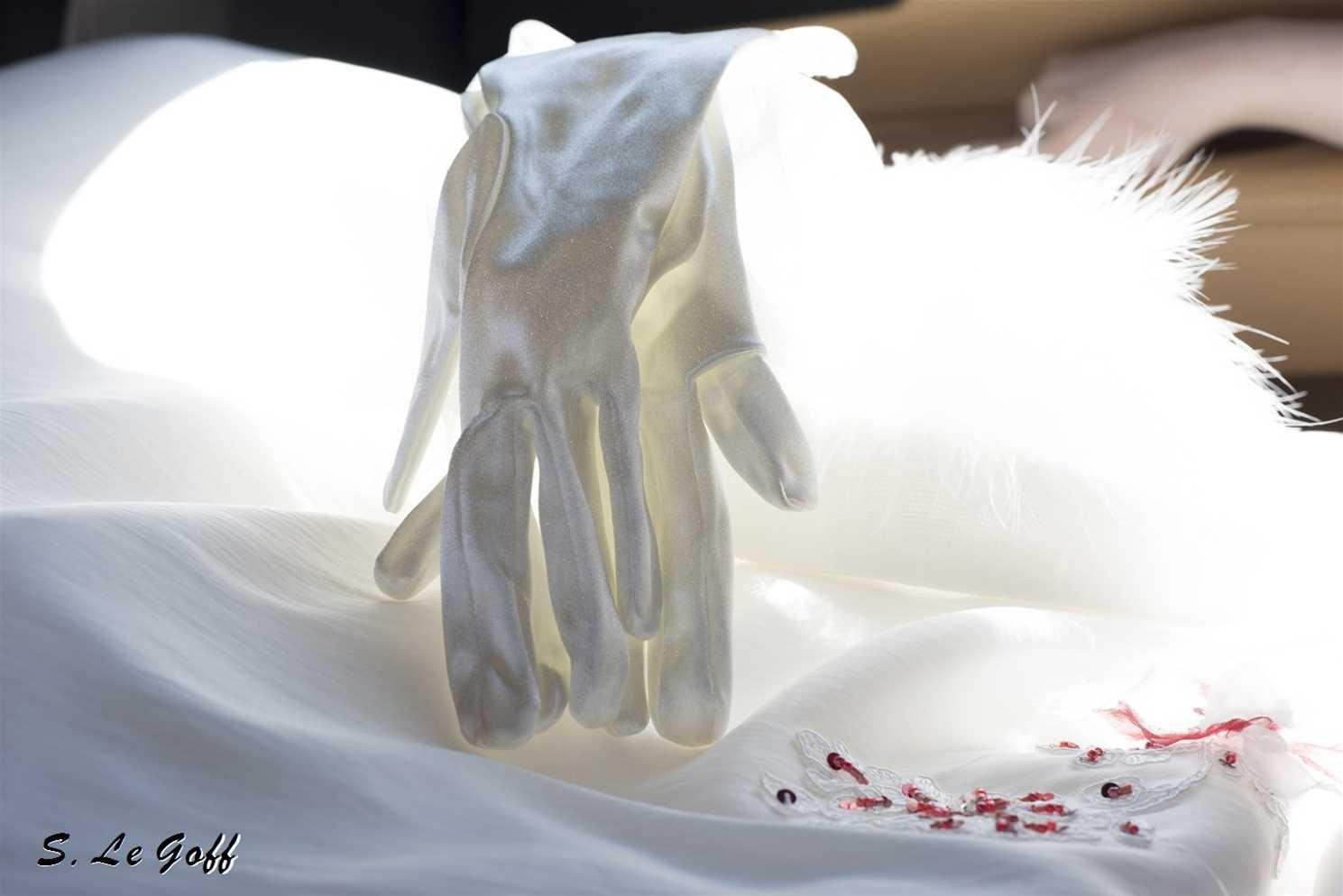Gants de la mariée
