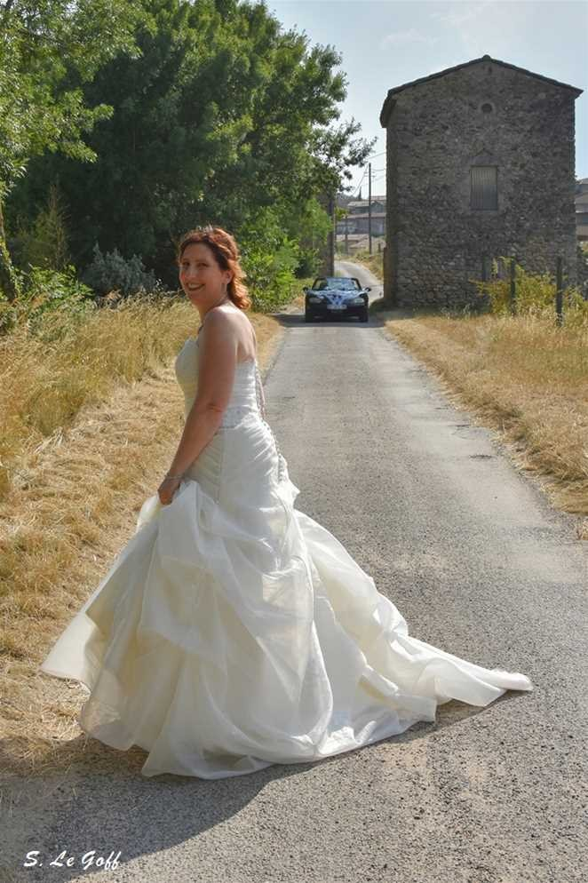 Mariée à Saint-Sernin
