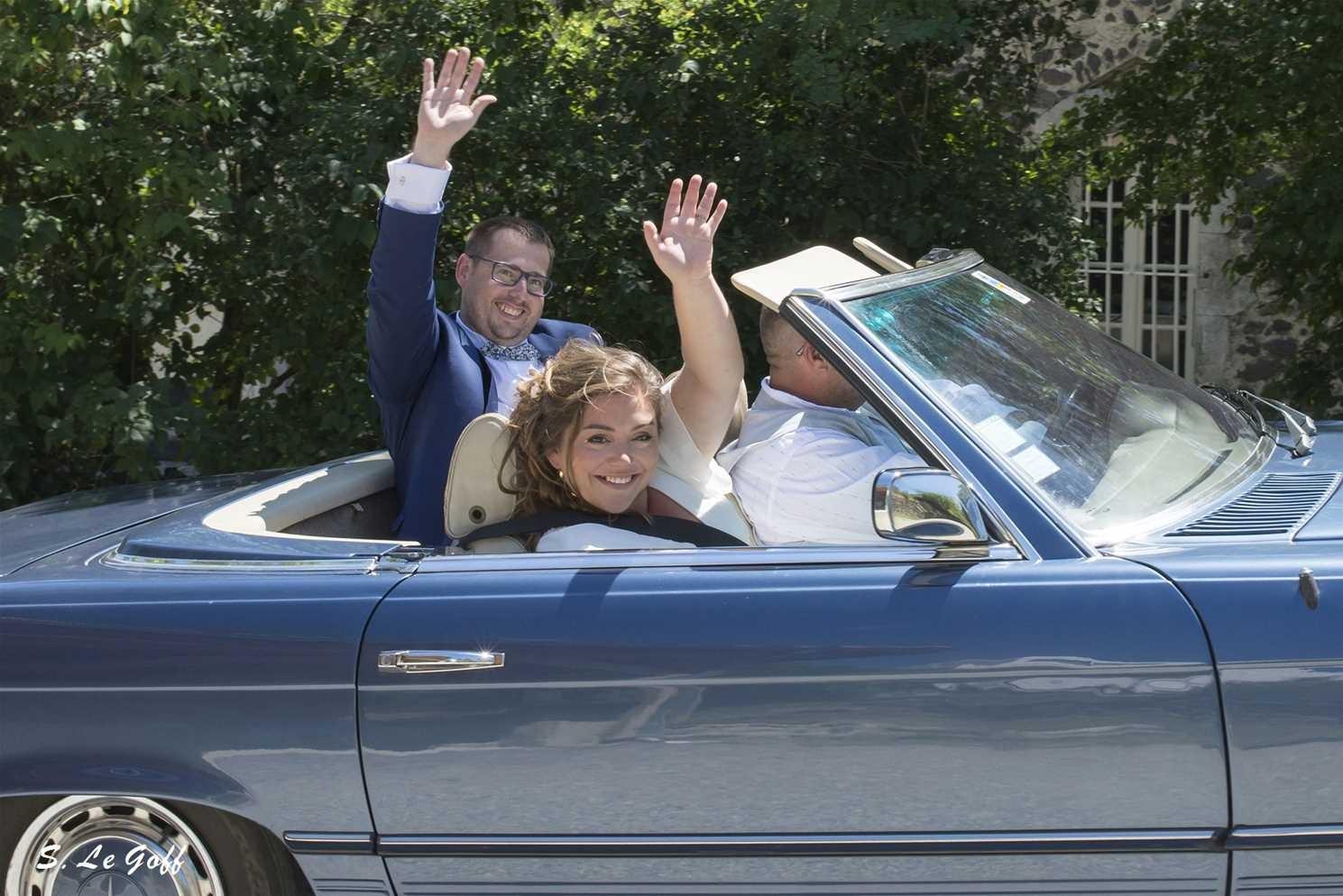 En route pour la mairie d'Aubenas
