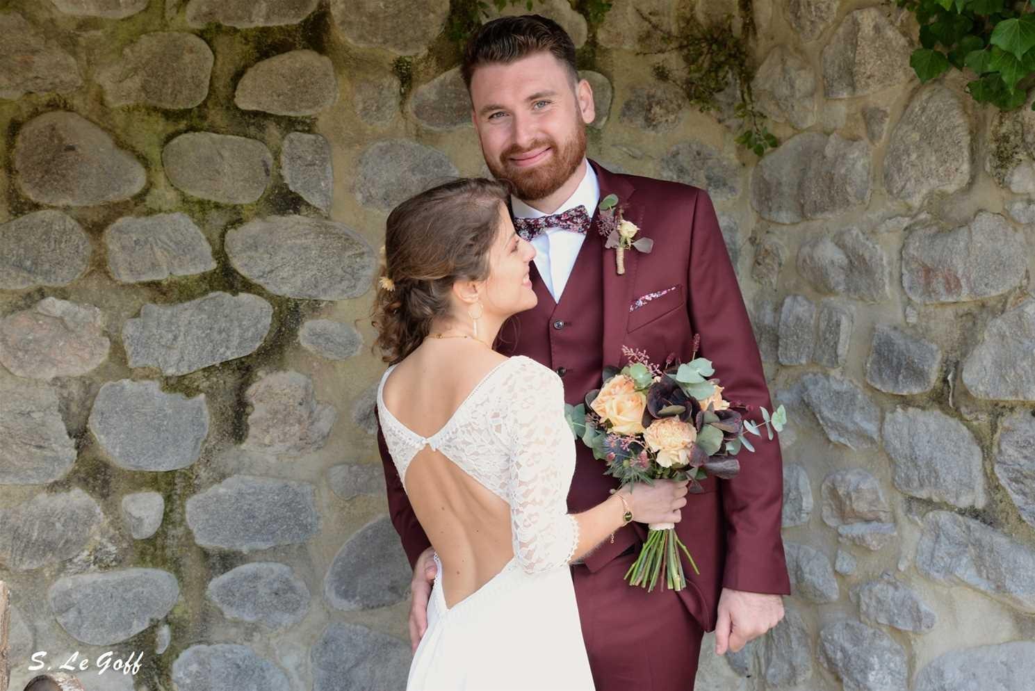 Mariés à Jaujac