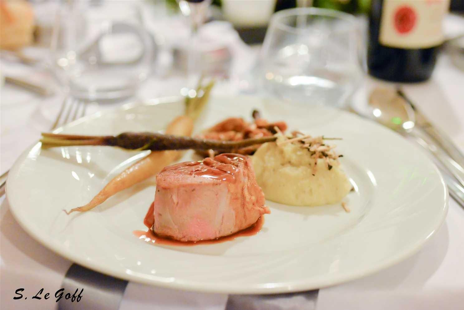 Assiette des mariés