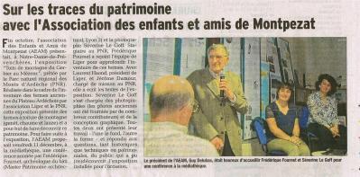Séverine Le Goff, article du Dauphine 15 décembre 2015