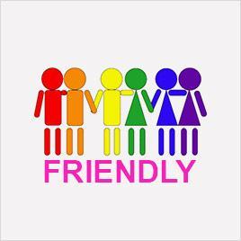 Logo gay friendly