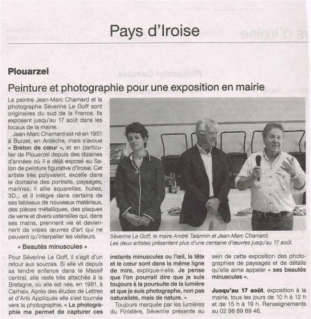 Ouest france 21 juillet 2014