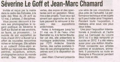 Séverine Le Goff, article de La Tribune 9 mai 2013